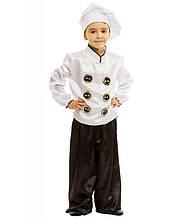Образ Повара костюм маскарадный детский на утренник, постановку, выступление