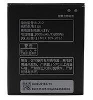 Аккумуляторная батарея (АКБ) для Lenovo BL212 (S860/S880/S898T/A628T/A708T) леново, 2000 мАч