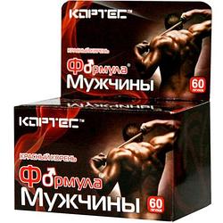 """Эффективный комплекс для мужского здоровья """"Формула Мужчины"""" табл.№60 (ТМ Кортес)"""