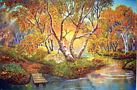 Картина из янтаря. Пейзаж 43