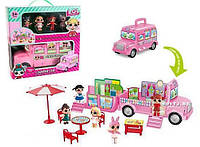 ЛОЛ / LOL Surpries Campercar фургон-домик 4 куклы 30*29см