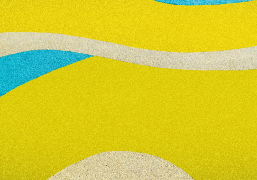 Бесшовное покрытие 15 ммярко-желтое