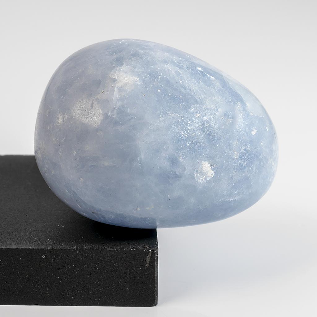Ангелит, срез камня шлифованный, 374ФГА