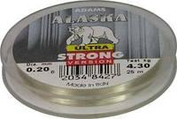 Леска ALASKA ULTRA Strong,Soft-0,08;0,12