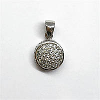 Подвеска из серебра в стиле Pandora покрыт родием, фото 1