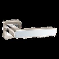 Ручка дверная PUNTO  Mars QR матовый никель/хром
