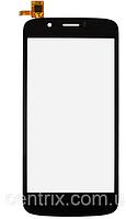 Тачскрин (сенсор) для Prestigio PAP5504 DUO MultiPhone, черный