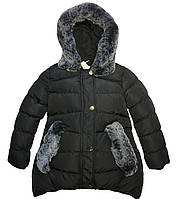 Удлиненные  зимние куртки для девочки Seagull Венгрия