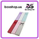 Подарочная коробочка под браслет или цепочку Геометрические узоры 20,2*4,5*2,2 см, фото 2