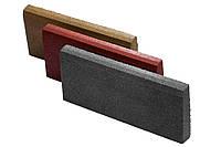 Резиновый бордюр 500/300/70серый, фото 1