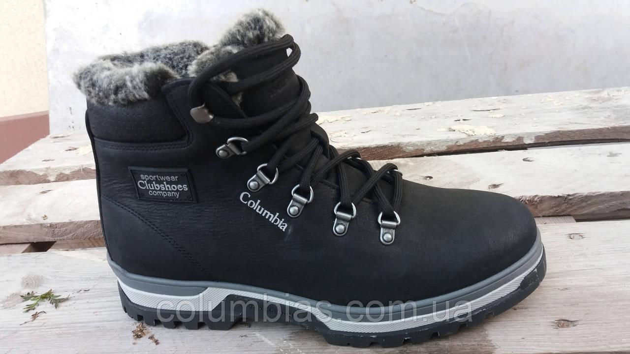 Зимняя кожаная обувь Columbiaа