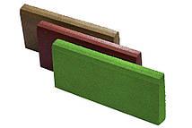 Резиновый бордюр 500/300/70зеленый