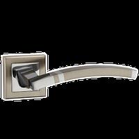 Ручка дверная PUNTO  NAVY QL матовый никель/хром