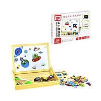 Деревянная игра с двухсторонней доской Космос Kronos Toys C31347 (tsi_53556)