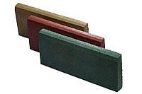 Резиновый бордюр 500/300/70ярко-красный, фото 1