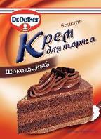 Крем для торта шоколадный 50г  Dr.Oetker - 00656