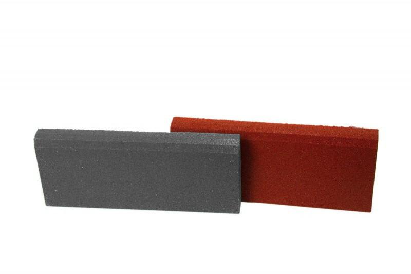Резиновый бордюр 500/250/40 серый