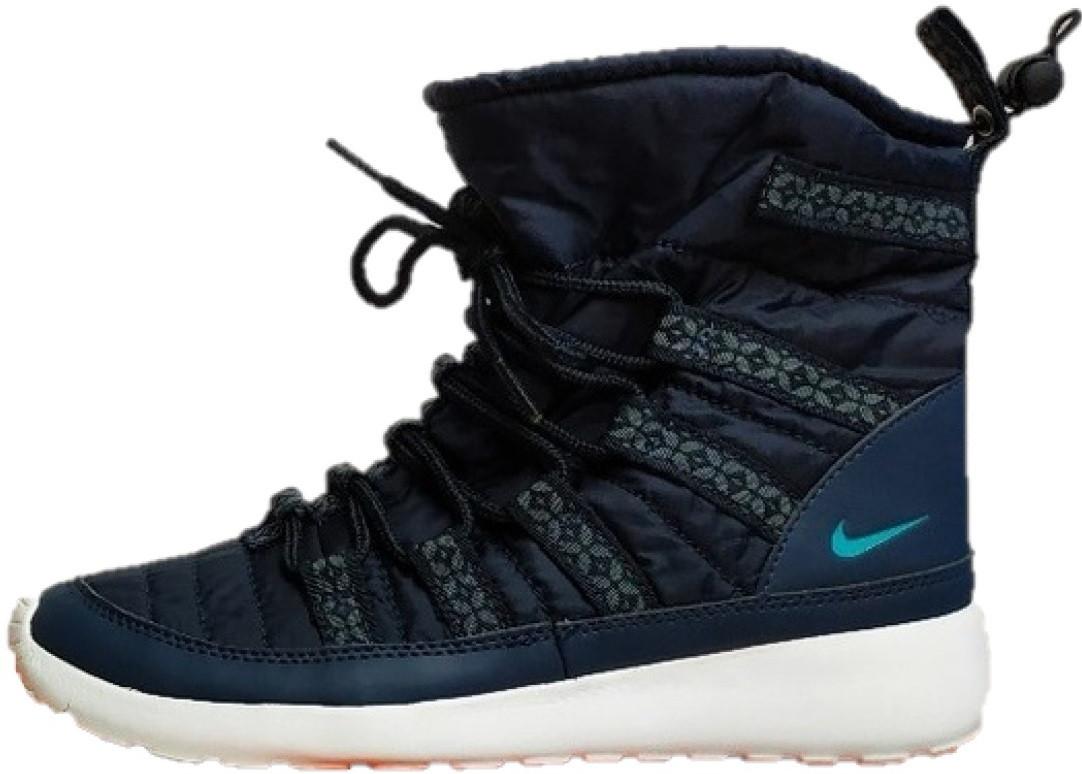 4a781b44 Женские зимние ботинки Nike Bluec(найк, синие) на меху - Магазин обуви Brand