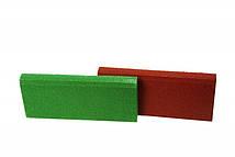 Резиновый бордюр 500/250/40 зеленый