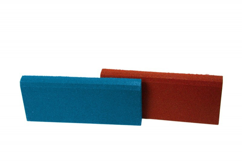 Резиновый бордюр 500/250/40 синий
