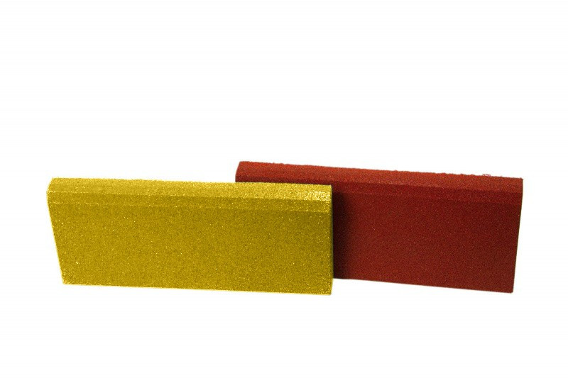 Резиновый бордюр 500/250/40 желтый