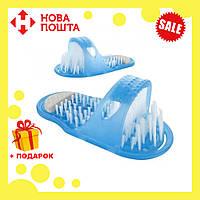 Массажные тапочки для душа с пемзой Simple Slippers, фото 1