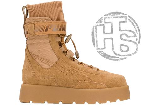 22f8e112ab8197e  Женские ботинки Puma Scuba Boot Rihanna Fenty Brush  367677-04 eb4d7ba5b7464