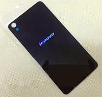 Задняя крышка для Lenovo S850, синяя, оригинал (логотип просвечивается)
