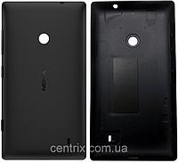 Задняя крышка для Nokia 520 Lumia, черная, оригинал