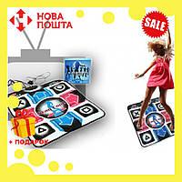 Танцевальный коврик для использования на компьютере или телевизоре DANCE MAT PC+TV, фото 1