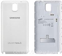 Задняя крышка для Samsung N900 Note 3, N9000, N9006, белая, Classic White, оригинал