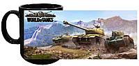 Чашка World of Tanks 10 (чёрная)