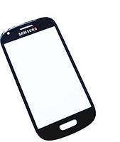 Стекло (для ремонта дисплея) Samsung i8190 Galaxy S3 mini, синее