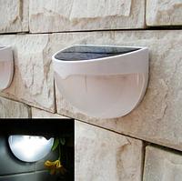 """Уличный светильник на солнечной батарее настенный 6 LED  """"Ласточкино гнездо"""""""