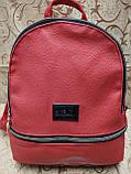 (32*27)Жіночий рюкзак мистецтв шкіра love moschino якість міський стильний Популярний тільки опт, фото 3