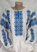 Оригинальная женская вышиванка  (лен)