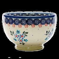 Пиала японская 10,5 керамическая маленькая Blue Chintz, фото 1