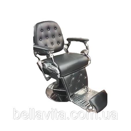 Крісло перукарське чоловіче Luxury, фото 2