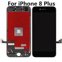 Дисплей (экран) для iPhone 8 Plus + тачскрин, цвет черный, копия высокого качества