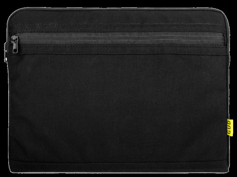 Сумка-чохол для планшета 10 дюймів GUD Laptop Sleeve (15 IN.) 102, тканинний, чорний