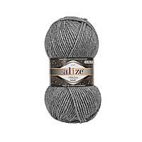 Alize Superlana Midi LUX  серый меланж №21