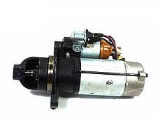 Стартер КАМАЗ Z=10 9КВТ редукторный, герметичный с дополнительным реле (пр-во БАТЭ)