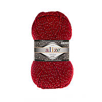 Alize Superlana Midi LUX красный №56