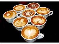 Формочки, трафареты для кофе, лате, латте-арт 16шт