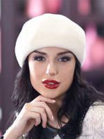 187-1 Женский фетровый берет  Хелен Лайн