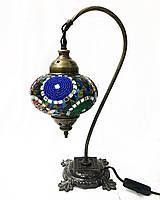 Настольный изогнутый турецкий светильник кэмэл из мозаики ручной работы цветной 3, фото 1
