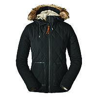 Куртка Eddie Bauer Womens Snowfurry Jacket Black Черная 0311BK-S, КОД: 259871