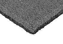 Резиновая плитка 500х500х40 серая