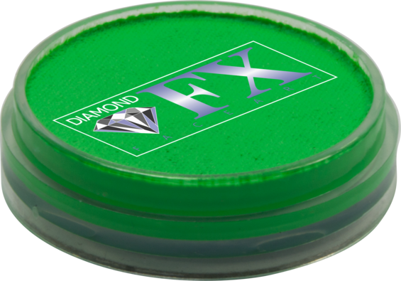 Аквагрим Diamond FX неон Зелёный 10g, фото 2