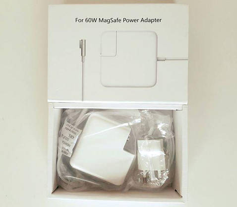 Блок питания Зарядка для ноутбука APPLE Macbook MagSafe штекер L - образный, фото 3